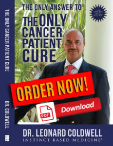 New Book The only cancer patient cure